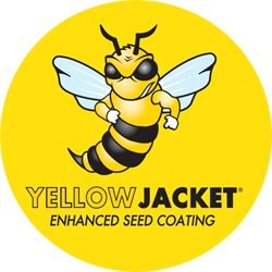 Yellow Jacket Enhanced Seed Coating Logo